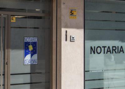 Notaría en General Ricardos nº 147, Madrid